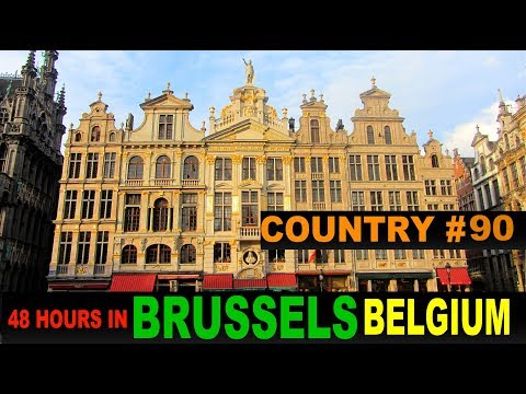 A Tourist's Guide to Brussels, Belgium