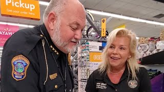 Police Surprise Walmart Customers by Paying Layaways