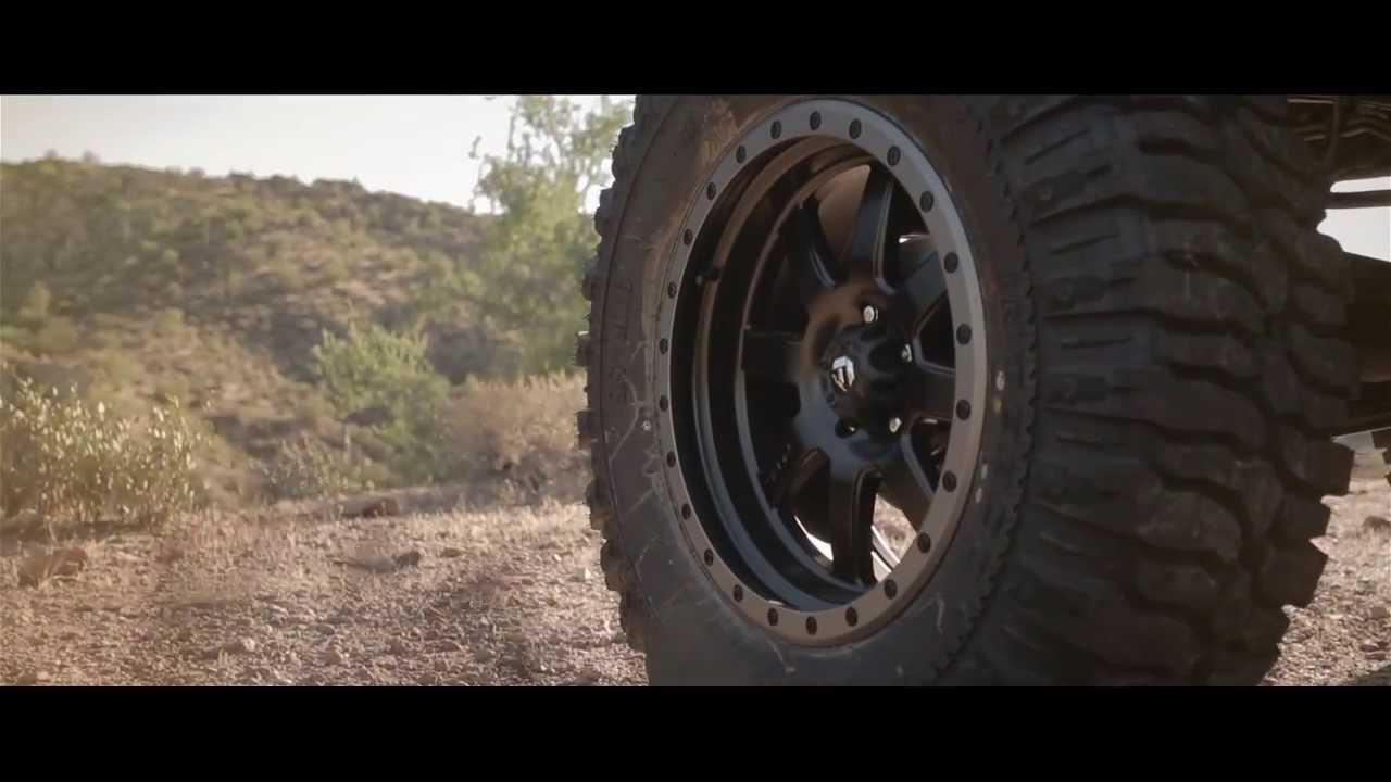 Jeep Jk Wheels >> Jeep Rubicon on Fuel Trophy Wheel | Rim | Addictive Desert Designs - YouTube