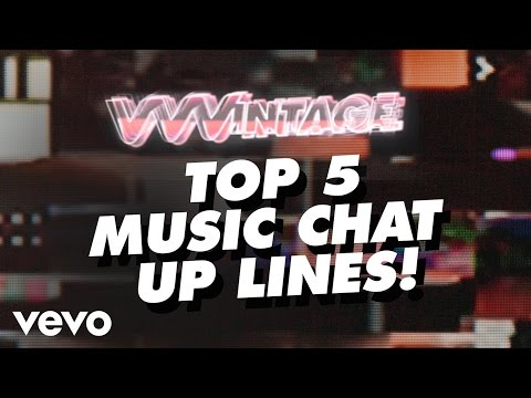 Vvvintage - Top 5 Music Chat Up Lines! (ft. Britney Spears, Enrique Iglesias, 50 Cent, Ke$ha) video
