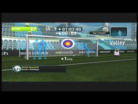 Soccer Training Game - MiCoach for Adidas for Kinect - Xbox Fitness