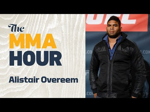 Alistair Overeem Says He's Been Told He'll get UFC Title Shot with Win Over Francis Ngannou