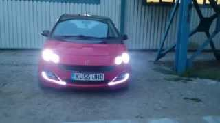 smart forfour with £3:50 ledlights strip