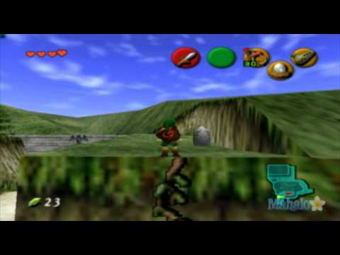 Legend of Zelda: Ocarina of Time Walkthrough - Hyrule Castle