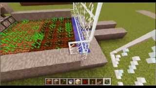minecraft tutorial farm grano