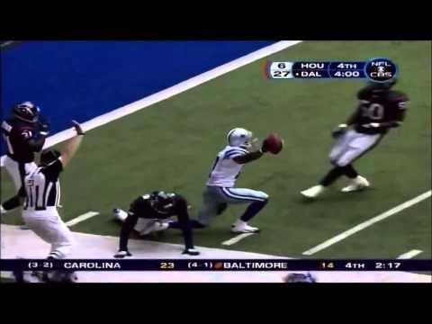 Tony Romo's First NFL Pass as a Dallas Cowboys