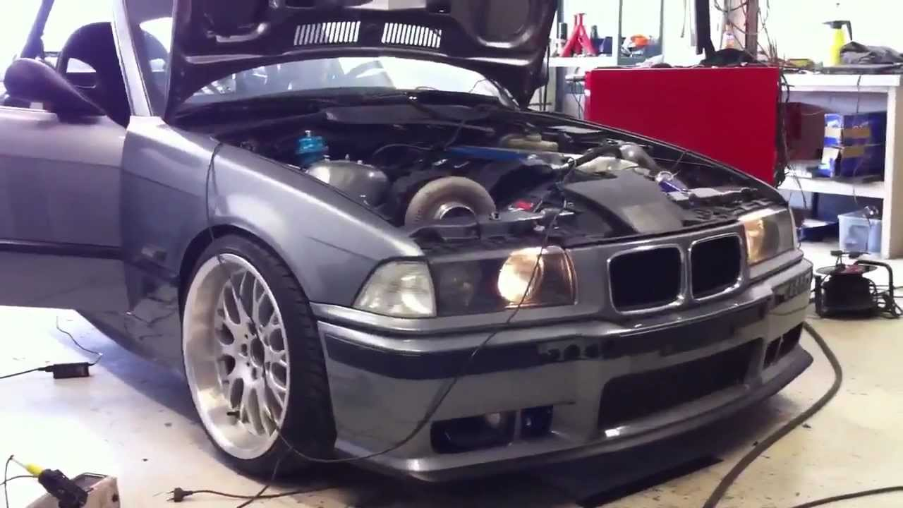 Bmw E36 M50 Turbo Holset Youtube