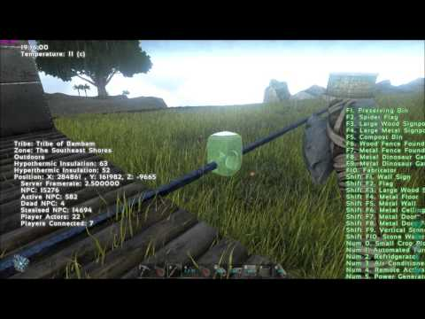 Ark Survival Evolved - Mountain farming/irrigation - water where there is none