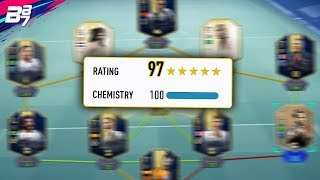 HIGHEST RATED TEAM ON FIFA! 197!   FIFA 19