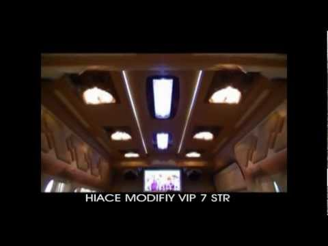 Toyota Hiace commuter VIP 7 Seat