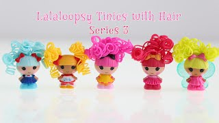 Lalaloopsy Tinies with Hair - Series 3 (Marina Anchors, Pix E. Flutters, Tippy Tumblelina, + More!)