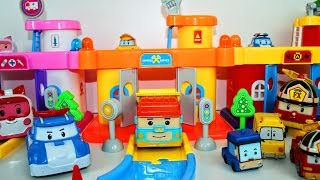 Мультик: Машинки для детей Робокар Поли - Car Parking Robocar Poli Police Cars