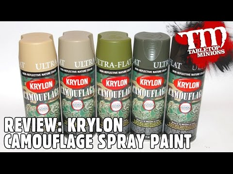 REVIEW: Krylon Camouflage Spray Paint
