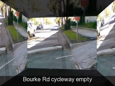 Sydney's expensive separated bike paths