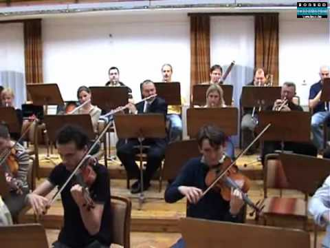 Opera-Rock Show: Orchestra rehearsal for Tarja-show Part 1