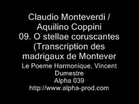 Монтеверди Клаудио - O stellae coruscantes