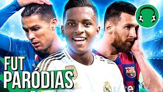 ♫ CHAMPIONS: RODRYGO BRILHA E CR7 TEM GOL ROUBADO | Paródia Sucker For Pain - Imagine Dragons