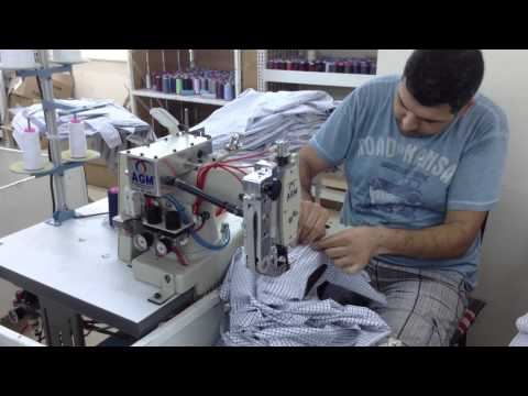 FGC Gömlek İstanbul 2-Feed Of Arm Automatic Machine For Shirt