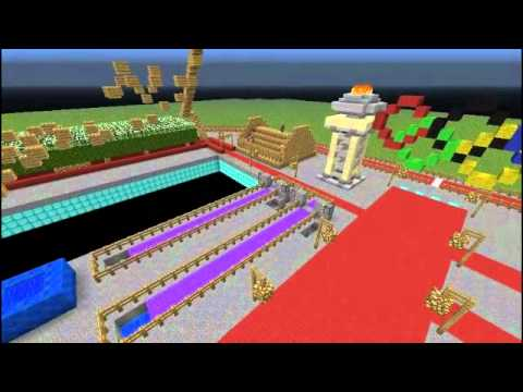 let's play minecraft - 2012 olympics - download [efg]