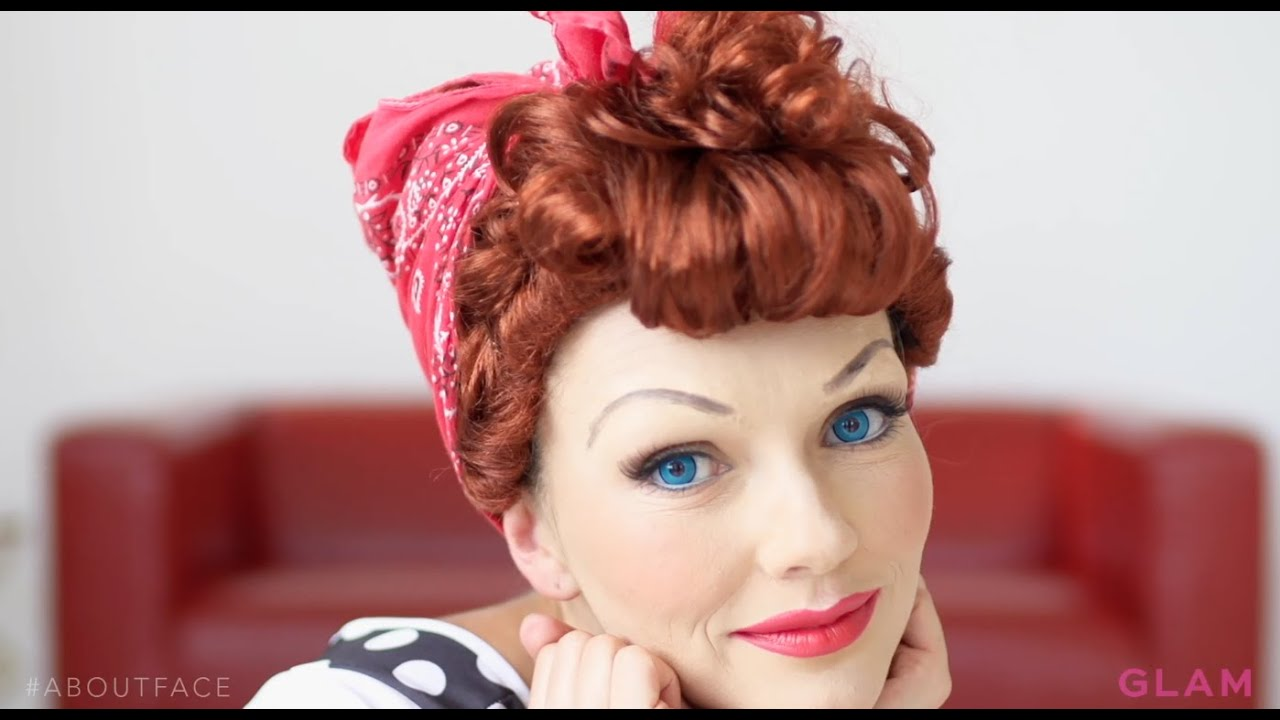 Kandee Johnson S Lucille Ball Diy About Face Youtube