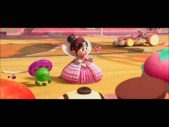 Wreck-It Ralph: Vanellope Becomes Princess Clip (HD)