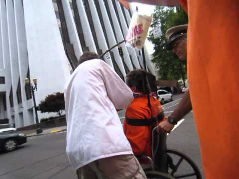 guantanamo force-feeding protest: portland right-to-die oregon