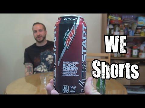 WE Shorts - Mountain Dew Kickstart Energizing Black Cherry