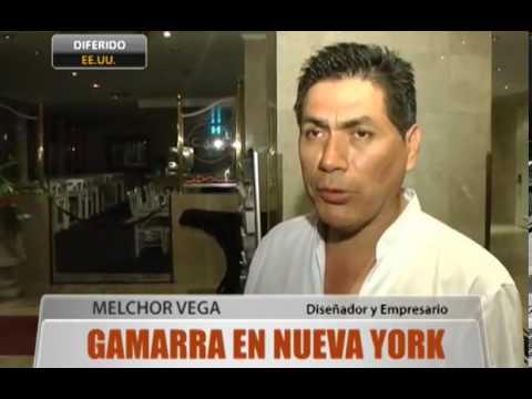 Gamarra en Nueva York
