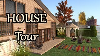 Second Life - HOUSE TOUR