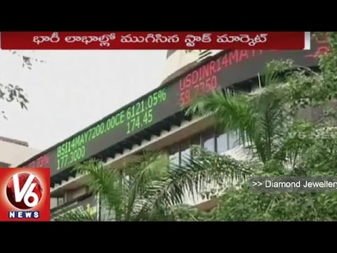 Stock Market In Profits | Sensex Record Profits With 485 Points | V6 News