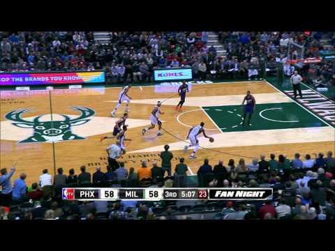 Top 5 NBA Plays: January 6th