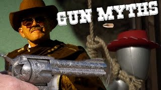 Cutting the Hangman's Rope with a Bullet| Gun Myths with Jerry Miculek (4K UHD)