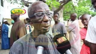 Doudou Ndiaye Rose à la levée du Corps de Vieux Sing Faye