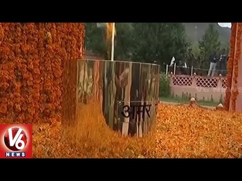 Indian Army Pays Tributes To Kargil Martyrs At Dras Memorial | Jammu And Kashmir | V6 News