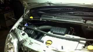 ( OPEL MERIVA )( How to Cabin Air Filter replacement )( Cabin filter change)