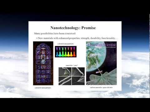 Michael Woodside Promise and Perils of Nanotechnology Part I LABMP 590 Winter 2013