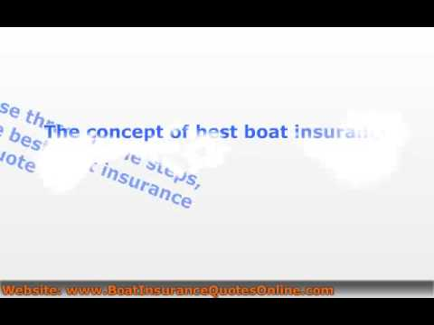 Boat Insurance Quote Online - Helpful Info