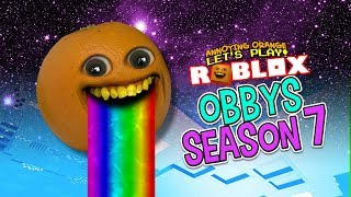 RIDE THE RAINBOW!!! | Roblox Obbys - Season #7 (Supercut)
