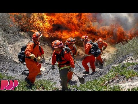 Prison Inmates In California Fight Wildfires