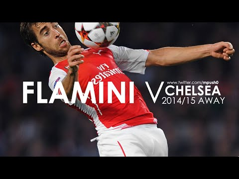 Mathieu Flamini vs Chelsea (away)