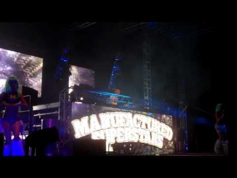 Manufactured Superstars 'Work Hard, Play Hard' at Soundwave OCT 2011, Tempe