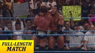 FULLLENGTH MATCH SmackDown Triple H vs The Rock WWE Championship