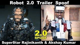 Robot 2.0 Trailer Spoof | Rajinikanth | Akshay Kumar | OYE TV