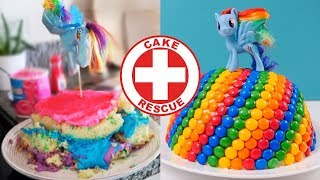 Cake Rescue! From failed to nailed it | How To Cook That Ann Reardon