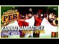 Kannai Nambathey Enakku Innoru Per Irukku Official Lyric Video G V Prakash Kumar Sam Anton mp3