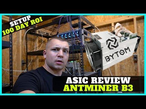 Bitmain Antminer B3 Review - Bytom BTM Mining is Profitable + ASIC Tensority Algo