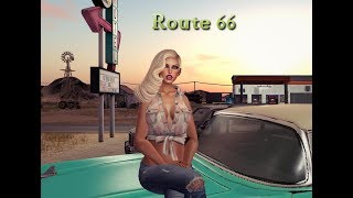 Route 66 in Second Life