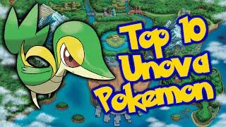 JPRPT98's Top 10 Favorite Unova Pokemon!