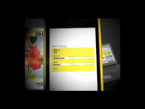 Páginas Amarillas Cantv Nuevo Comercial de TV (2011)