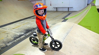 INSANE 2 YEAR OLD BMX TRICKS!